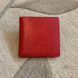 🙊Authentic Louis Vuitton Epi wallet